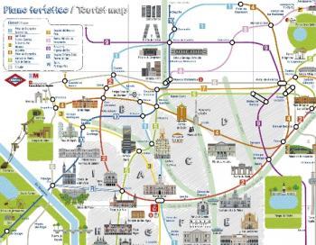Mapa Turistico De Madrid.Mapa Turistico De Madrid Hotel Santo Domingo Madrid